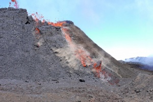 Illustration : Le Piton de la Fournaise s'active à nouveau