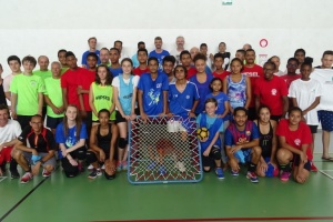 Illustration : Saint-Leu premier au tournoi de tchoukball