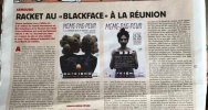 Illustration : article de Charlie Hebdo sur le blackface