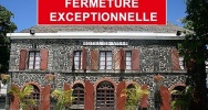 Illustration : Fermeture de la mairie de Saint-Leu