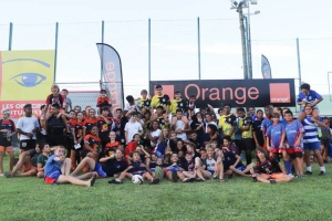 Illustration : Succès de l'Orange rugby challenge