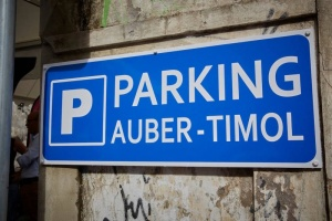 Illustration : Un nouveau parking dans le centre-ville