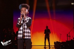 Illustration : Soan fait partie des huit finalistes de The Voice kids