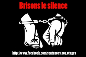 Illustration : Soutenons nos otages et brisons le silence !