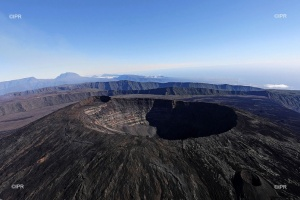 Illustration : Le Piton de la Fournaise se calme