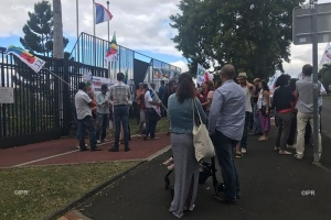 Illustration : Bac 2019 : des enseignants manifestent devant le rectorat