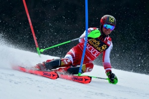 Illustration : Ski alpin: Marcel Hirscher, le très grand huit