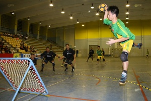 Illustration : Tchoukball : le premier tournoi open de l'île