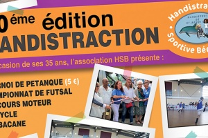 Illustration : Saint-Benoit : Handistraction organise une journée sportive