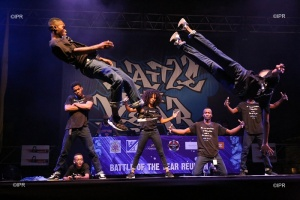 Illustration : Battle of the year : le show des crews enflamme le Port