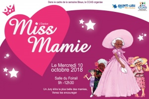 Illustration : Election de Miss Mamie Saint-Leu