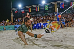 "Illustration : L'Open international des Brisants, premier tournoi des ""Sand Series 2020"""