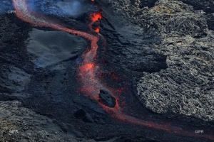 Illustration : Piton de la Fournaise : le show continue