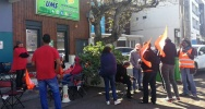 Illustration : Grève syndicat Union mutualité solidarité