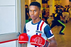 Illustration : Kick-boxing : Xavier Fandikana, 15 ans, sacré vice champion du monde