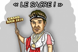 Illustration : Grand Raid: L'agitateur péi sacre l'empereur François