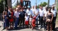 Illustration : Le maire de Saint-Leu inaugure les travaux de modernisation