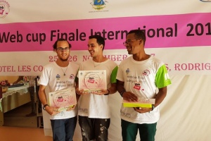 Illustration : La Réunion remporte la finale internationale de la Webcup