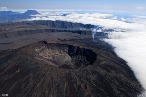 Illustration : Le Piton de la Fournaise se rendort