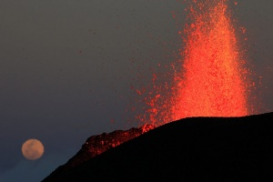 Illustration : PHOTOS - Le volcan s'est endormi il y a 3 mois