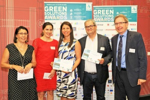Illustration : La Possession : L'Ecoquartier centre-ville primé aux Green Solutions Awards
