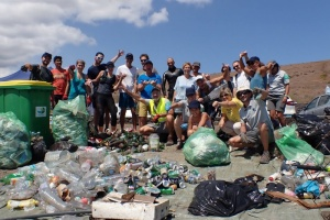 Illustration : World Clean Up Day 2019 : 18,5 tonnes de déchets ramassés à La Réunion