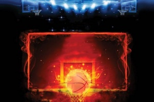 Illustration : Saint-Denis - Place au basketball fluorescent