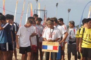 Illustration : Beach-tchoukball : les juniors de La Réunion terminent 3e