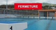 Illustration : fermeture piscine Saint-Leu