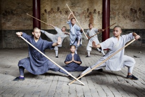 Illustration : Les Moines Shaolin en spectacle au Tampon