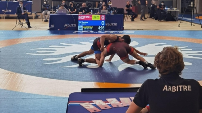 French Championship: Combat: Silver medal for Runionnais Stphane Sine