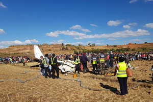 Illustration : Le crash d'un avion fait quatre morts