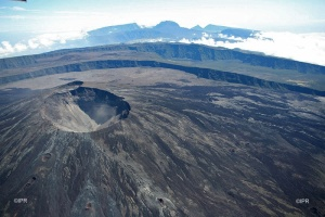 Illustration : Le volcan passe en alerte 1 - Éruption probable ou imminente