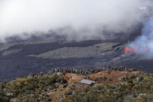 Illustration : Piton de la Fournaise - Que le spectacle continue
