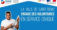 Illustration : Saint-Denis recrute Service Ciique