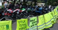 Illustration : Samedi 10 septembre 2011 - Manifestation des motards au Barachois (photo Emilie Sorres)