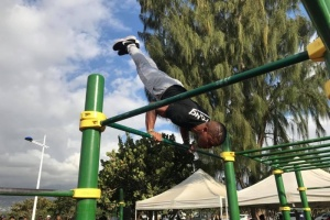 Illustration : Le Port : qualification pour la Coupe du monde de street workout