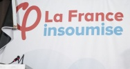 Illustration : France insoumise, logo, Insoumis, parti