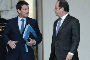Illustration : Présidentielle: la discorde Hollande-Valls à son paroxysme