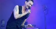 Illustration : Le chanteur de Depeche Mode Dave Gahan au festival