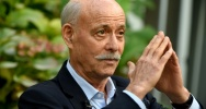 Illustration : L'économiste Jeremy Rifkin le 18 octobre 2019 à Paris