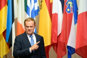 Illustration : Tusk met en garde contre un long divorce en cas de Brexit