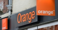 Illustration : Le logo d'Orange