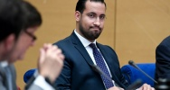 Illustration : Alexandre Benalla lors de son audition devant le Senat, à Paris, le 19 septembre 2018