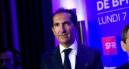 Illustration : Patrick Drahi, PDG d'Altice, le 7 novembre 2016 à Paris