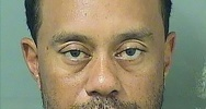 Illustration : Photo de Tiger Woods après son arrestation, fournie par la police de Palm Beach le 29 mai 2017