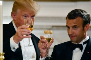 Illustration : Trump menace le vin français en rétorsion à la taxe Gafa
