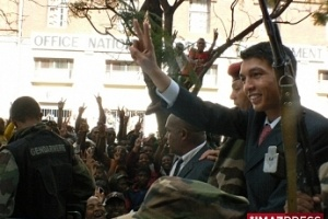 Illustration : Investiture pour Andry Rajoelina