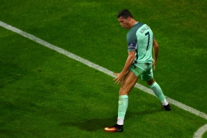 Illustration : Euro-2016: Ronaldo, l'Apollon du Portugal rêve d'un destin à la grecque