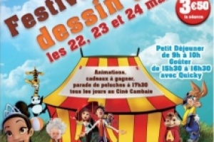 Illustration : Festival du dessin animé